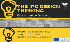 Design Thinking-Beta Innovation Bootcamp no IPG